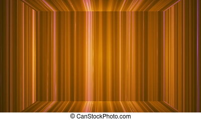 Broadcast Vertical Hi-Tech Lines Stage, Orange, Abstract, Loopable, HD