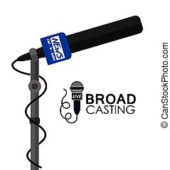 Broadcasting design - Broadcasting digital design, vector ...