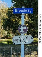 broadway , σήμα