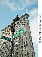 broadway , σήμα , μέσα , άπειρος york άστυ , η π α