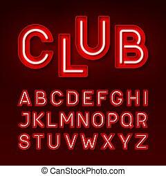 broadway, club, nuit