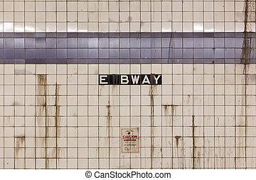 broadway, est, nyc