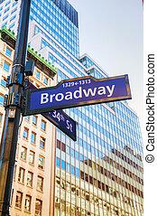 broadway, señal
