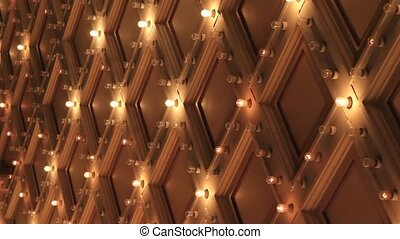 Broadway Theater Marquee Lights