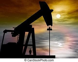 broca óleo