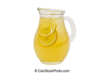 brocca, di, limonata