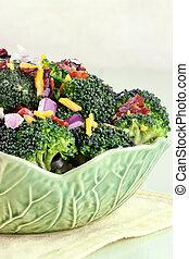 broccoli, 色拉