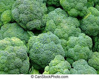 Bunch of green broccoli