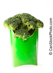 Broccoli Fast Food - Alternative to french fries - Broccoli...