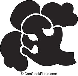 Broccoli icon, simple style