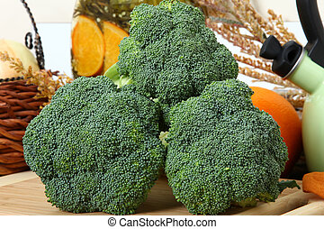 broccoli in Kitchen