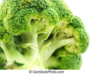 broccoli om white background