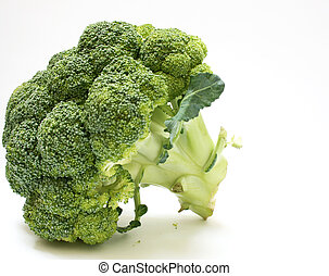 broccoli - detail of a broccoli vegetable