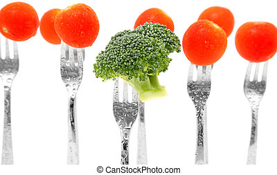 broccoli, tomaten