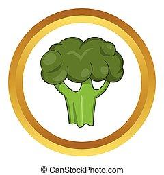 Broccoli vector icon