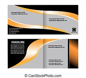 Brochure background with space for