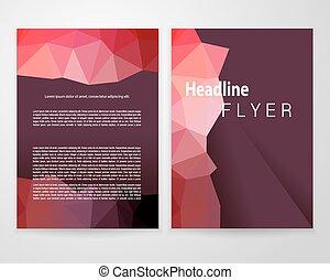 brochure, blanc, a4, récolte