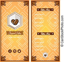 Brochure Coffee Template