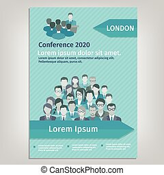 Brochure Conference Illustration