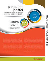 brochure, contenu, conception, fond