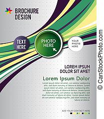 Brochure design content background. Design layout template