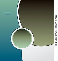 Brochure design content background