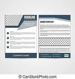 Brochure Design, Flyer A4 Template - Brochure Design, Flyer...
