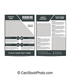 Brochure Design, Flyer Template