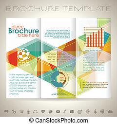 Brochure Design Template - Modern Vector Brochure Design...