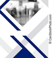 brochure, moderne, gabarit, design.