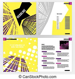 Brochure template - Vector business brochure template....