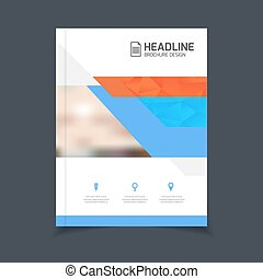 brochure template - Brochure template vector illustration,...