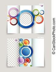 brochure, tri-fold, conception