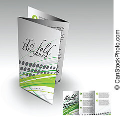 brochure, tri-fold, conception