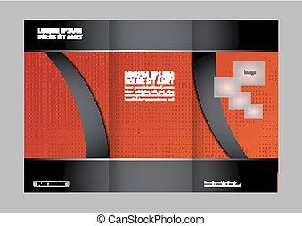 Brochure tri fold template