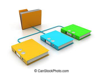 brochuren, dokument