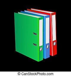 brochuren, dokumenter