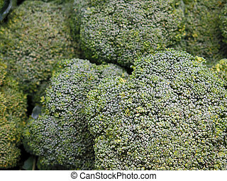 Brocoli for sale at the Farmers Market