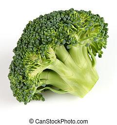 brocolli, closeup