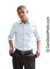 Broke business man - Broke young African business man...
