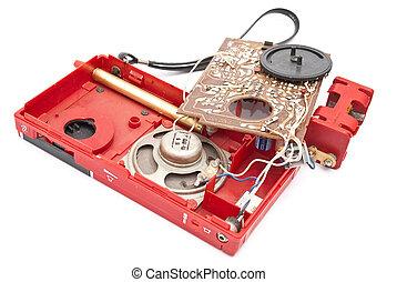Broken analog radio device