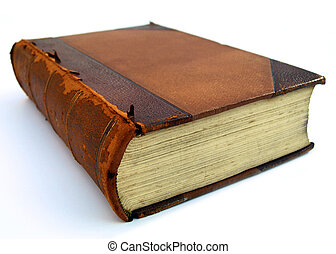 Broken Book with in perspective view to create an imposing atmosphere. Great for legal concepts.