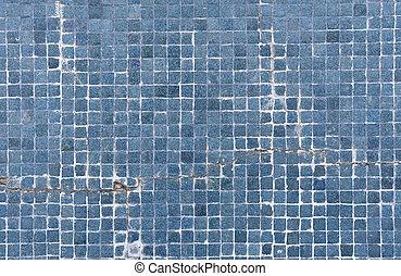 broken brick pool