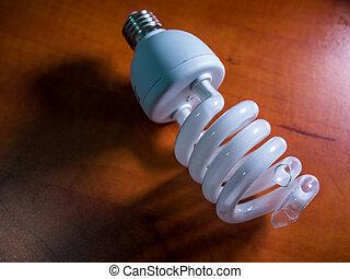 broken bulb light