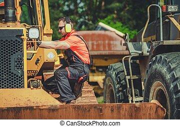 Broken Bulldozer Issue