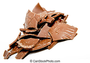 broken chocalate egg - Chocolate Easter Egg Gift