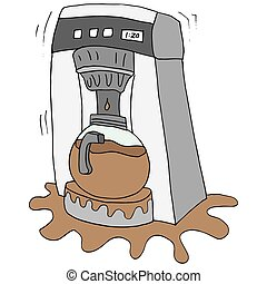 Coffee maker Clipart Vector Graphics. 6,235 Coffee maker ...