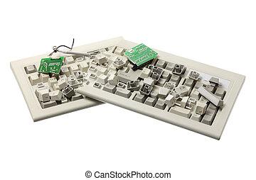 Broken Computer Keyboard