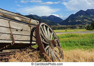 Broken Down Wagon - Broken down wagon is one of the few ...
