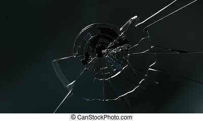 Broken glass - High quality animations of broken glass. Two...